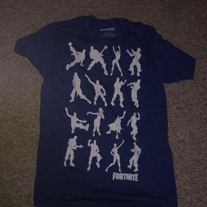 fortnite blue shirt